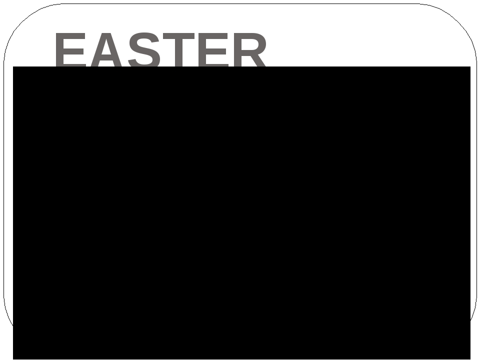 ЕASTER BUNNY