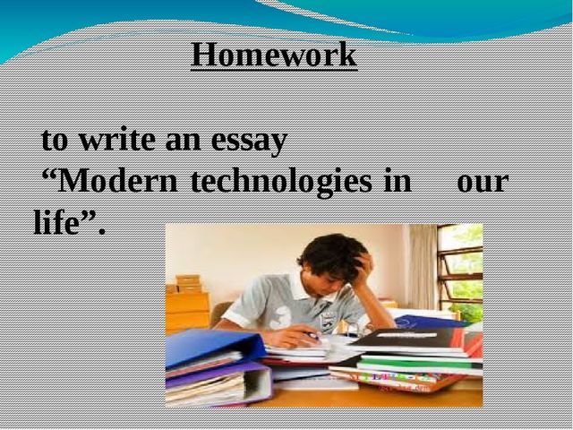 essay on modern life Cause / effect essay many phenomena, events, situations and trends can be better understood by describing their causes and effects the cause and effect essay explains what happens and why it happens.
