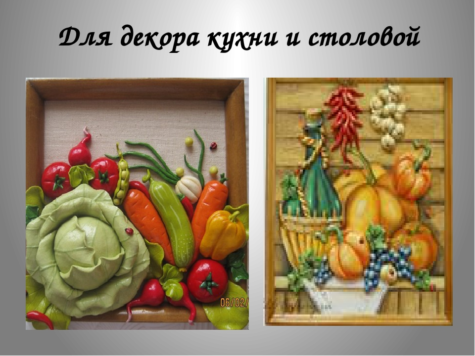 Для декора кухни и столовой