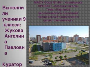 МАОУ СОШ №148 г. Челябинска ПРОЕКТ: «Зеленая школа» Тема:«Изучение экологичес