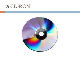 a CD-ROM
