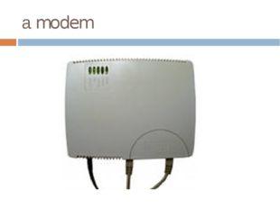 а modem