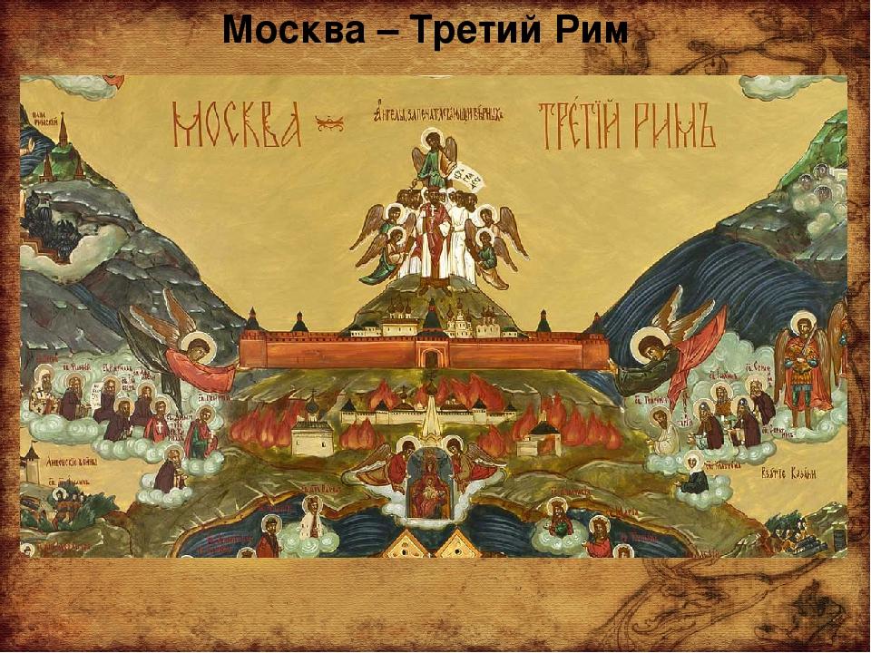 Москва – Третий Рим