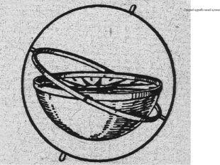Старый корабельный компас.