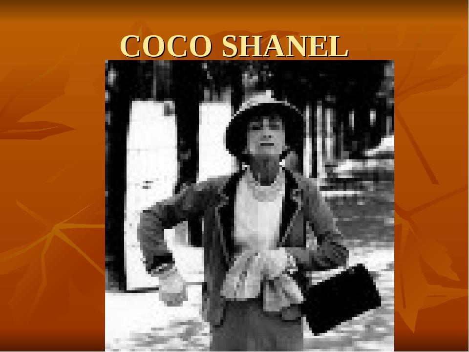 COCO SHANEL