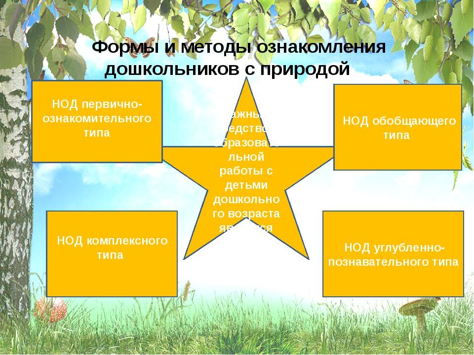 Важным средством образовательной работы с детьми дошкольного возраста являет...
