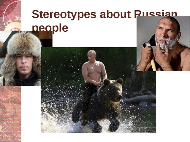 Stereotypes about Russian people