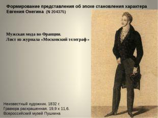 Петербург. Панорама Невского проспекта В. С. Садовников. 1830-е гг. Бумага на