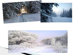 Кругом зима. Жестокая пора!