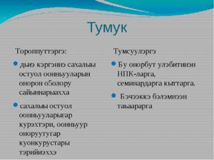 Тумук Тороппуттэргэ: дьиэ кэргэннэ сахалыы остуол оонньууларын онорон о5олору