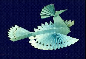 Как сделать птицу-солнце