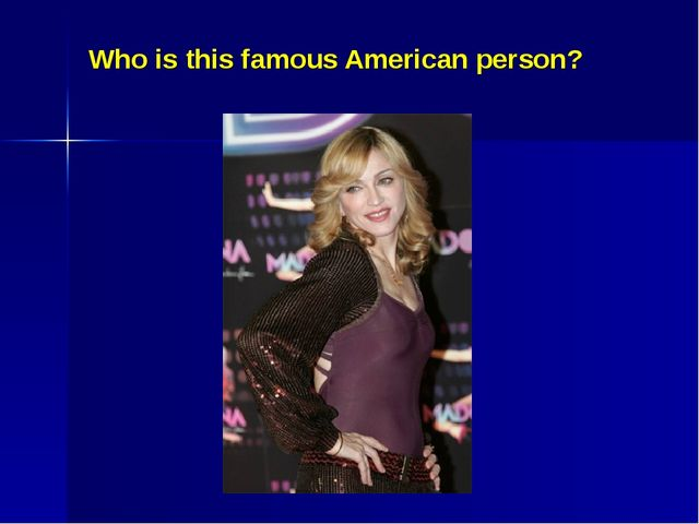 Who is this famous American person?