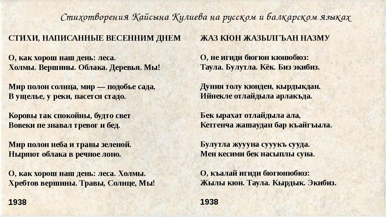 Поздравления с днем рождения на балкарском языке