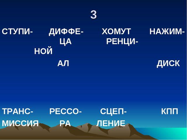 3 СТУПИ- ДИФФЕ- ХОМУТ НАЖИМ- ЦА РЕНЦИ- НОЙ АЛ ДИСК ТРАНС- РЕССО- СЦЕП- КПП МИ...