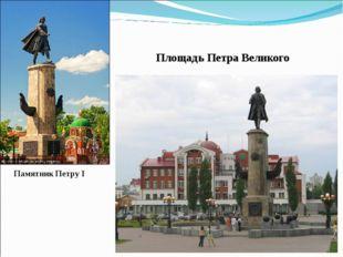 Площадь Петра Великого Памятник Петру I
