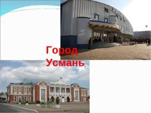 Город Усмань