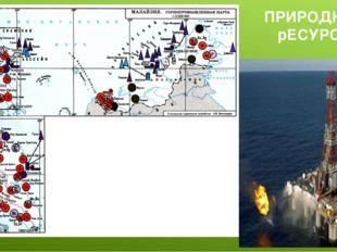 ПРИРОДНЫЕ рЕСУРСЫ Имеются крупные запасы нефти, олова, вольфрамовой руды, бок