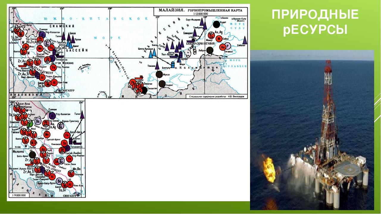 ПРИРОДНЫЕ рЕСУРСЫ Имеются крупные запасы нефти, олова, вольфрамовой руды, бок...