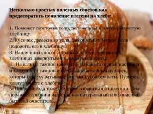 Несколько простых полезных советов как предотвратить появление плесени на хле