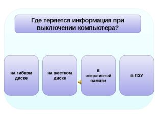 Какое устройство не предназначено для обработки информации?