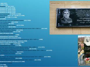орден Ленина №3546 (1937) орден Ленина №43083 (1944) орден Красного Знамени
