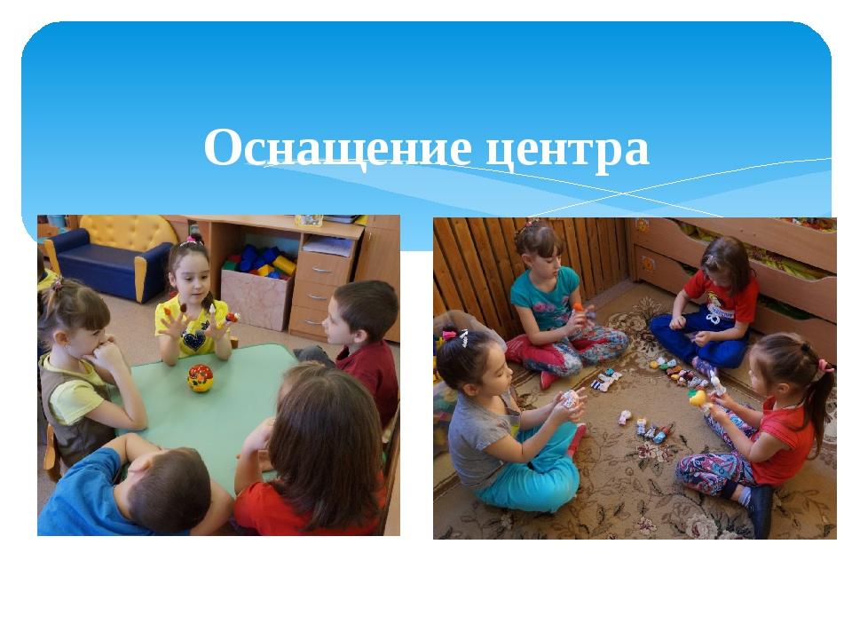 Оснащение центра Настольный театр Пальчиковый театр