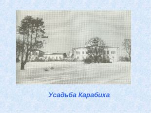 Усадьба Карабиха