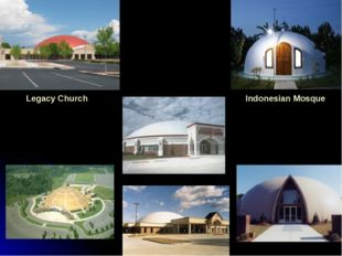 Legacy Church Indonesian Mosque