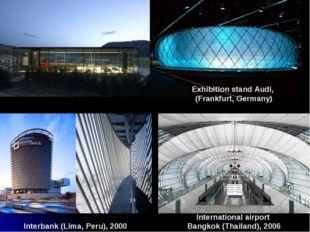 International airport Bangkok (Thailand), 2006 Exhibition stand Audi, (Frankf
