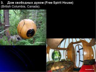 3. Дом свободных духом (Free Spirit House) (British Columbia, Canada).