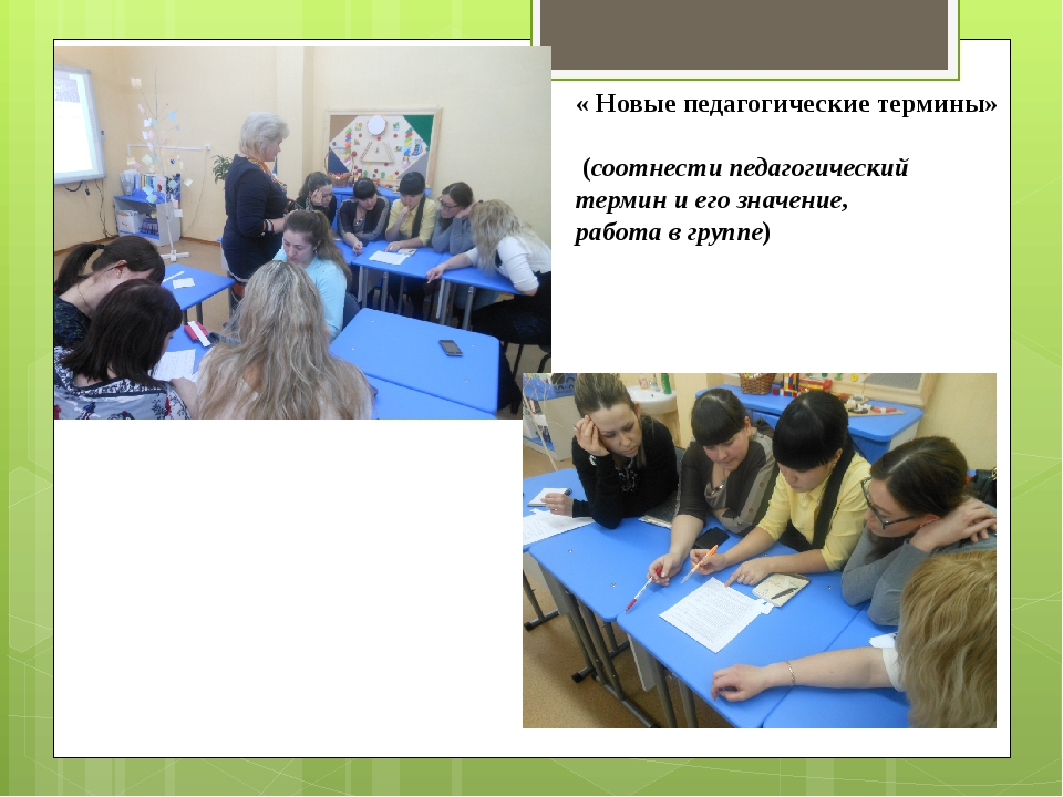 « Новые педагогические термины» (соотнести педагогический термин и его значен...
