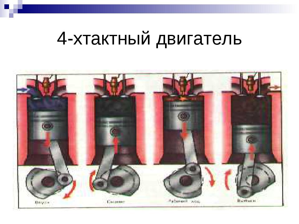4-хтактный двигатель