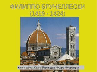 Купол собора Санта-Мария дель Фьоре. Флоренция.