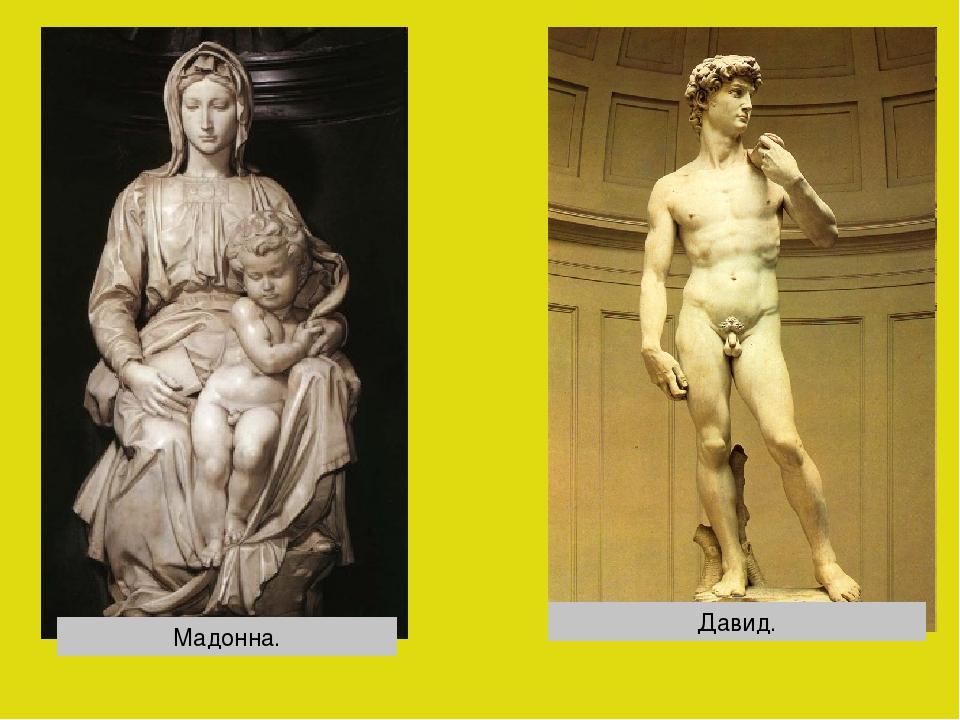 Мадонна. Давид.