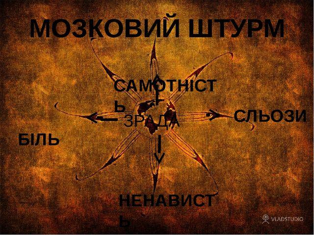 МОЗКОВИЙ ШТУРМ САМОТНІСТЬ СЛЬОЗИ БІЛЬ НЕНАВИСТЬ ЗРАДА