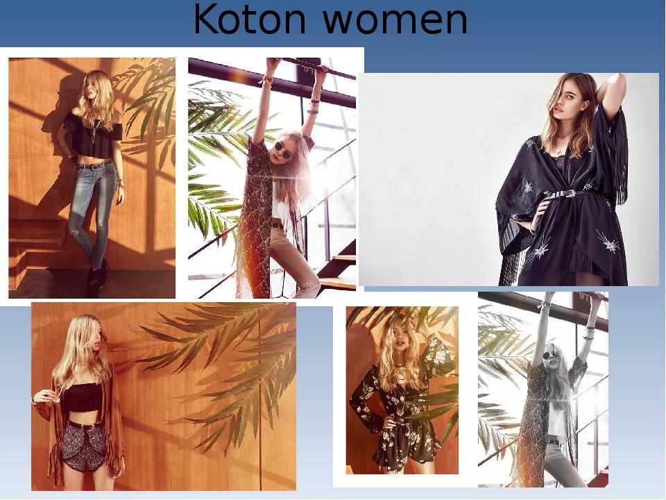 Koton women