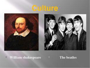 Culture William shakespeare The beatles