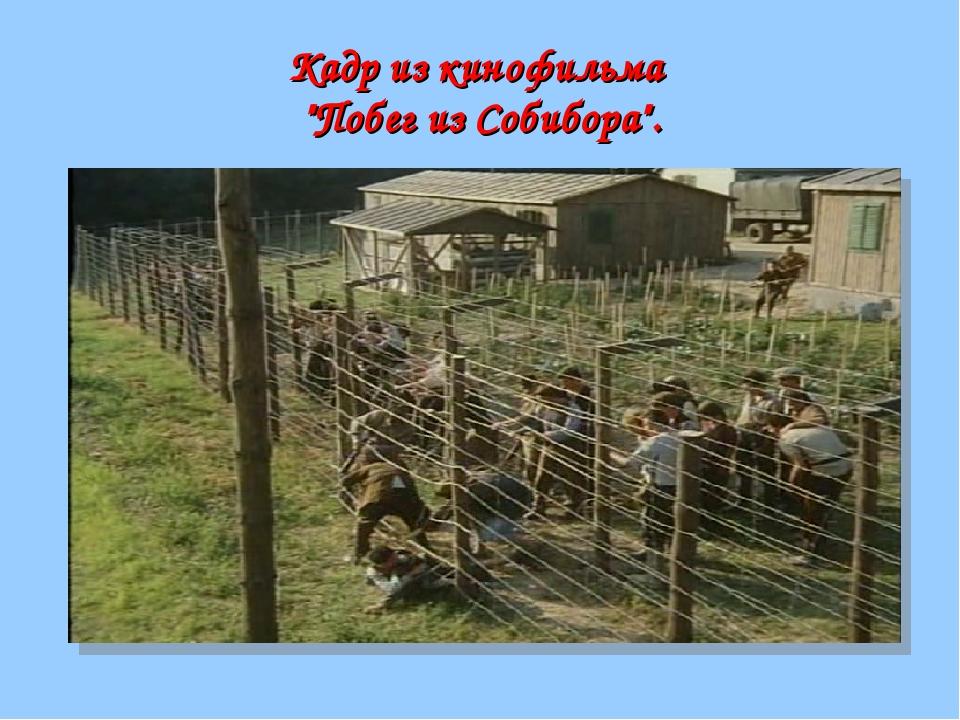 """Кадр из кинофильма """"Побег из Собибора""""."""