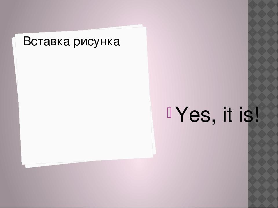 Yes, it is!