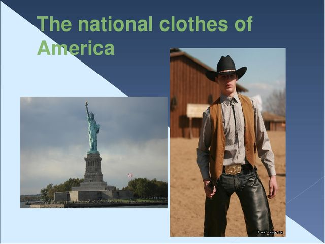 The national сlothes of America