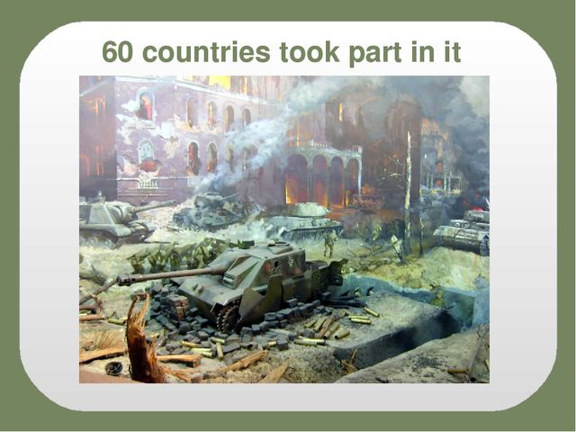 60 countries took part in it