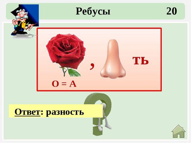 Ответ: треугольник Ребусы 40