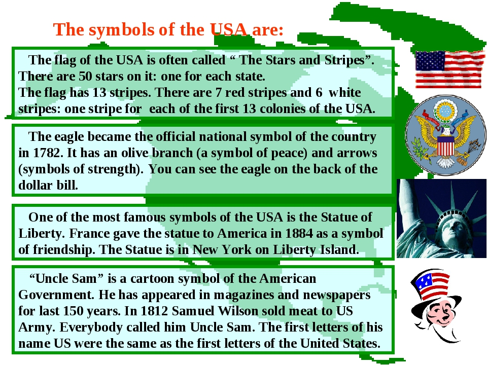 """The flag of the USA is often called """" The Stars and Stripes"""". There are 50 s..."""