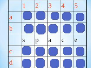 12345 a b space c d