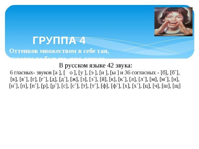 Выводы и предложения Во-первых, в русском языке звуков больше, букв. Во-вторы...