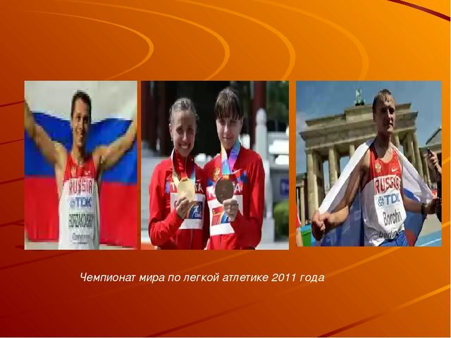 Чемпионат мира по легкой атлетике 2011 года