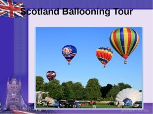 Scotland Ballooning Tour