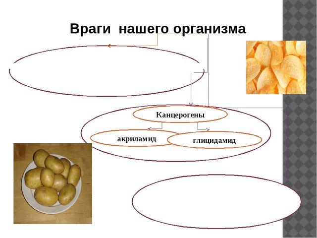 Враги нашего организма Канцерогены акриламид глицидамид они же трансжиры...