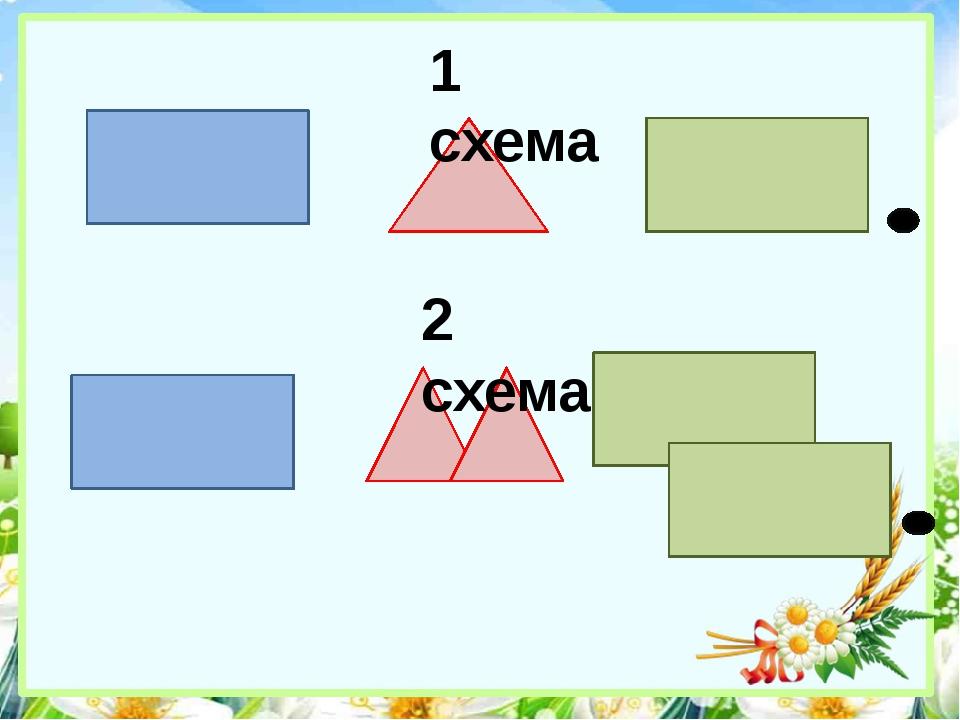 1 схема 2 схема