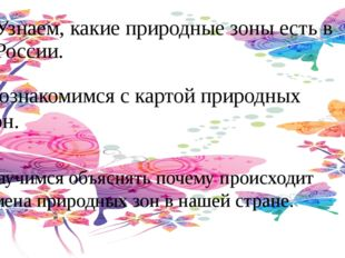 Узнаем, какие природные зоны есть в России. Познакомимся с картой природных з
